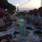 Cena a base di cozze al condominio solidale Pantera Rosa di Cervia